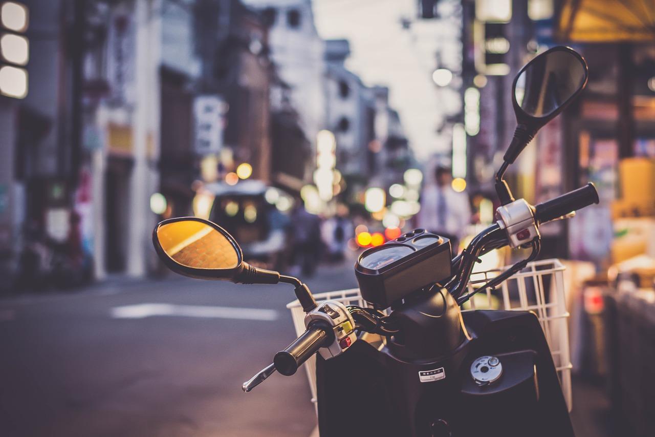Les motos taxis