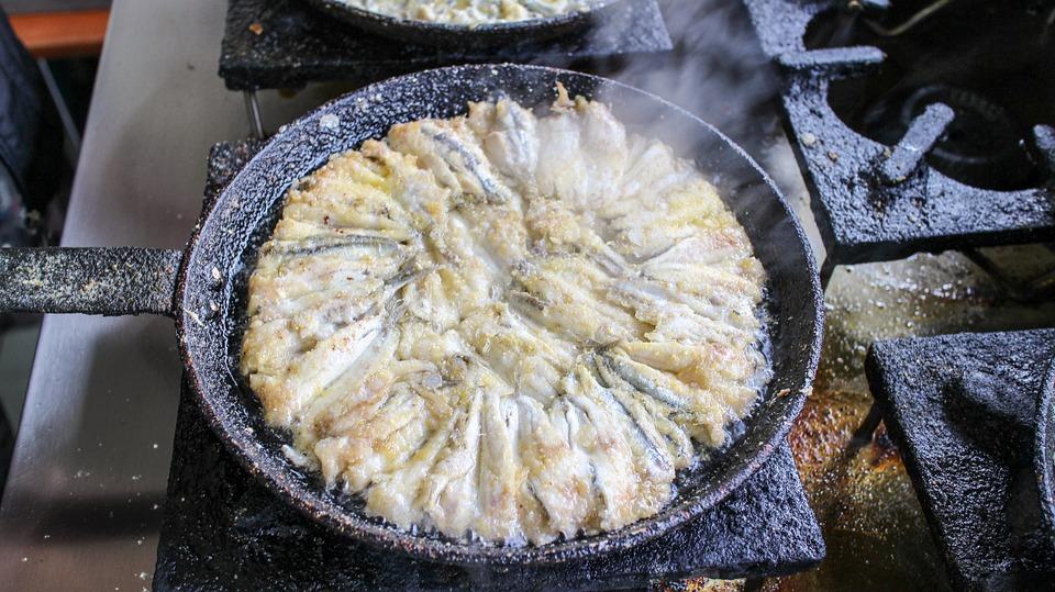 Recette d'anchois panés aux piquillos